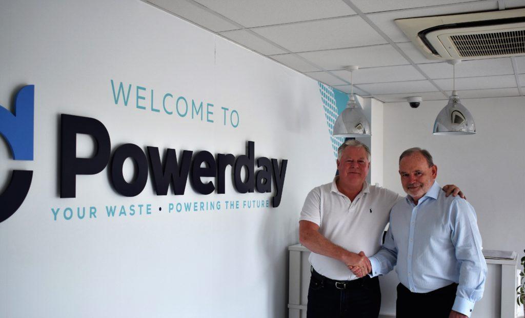 Chairman Mick Crossan with Managing Director Jim Craig